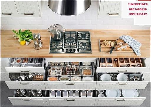 cách sắp xếp đồ đạc trong nhà bếp - Hướng dẫn những cách sắp xếp đồ đạc trong nhà bếp thông minh của người Nhật