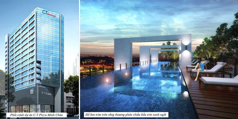 Dự án C.T Plaza Minh Chau