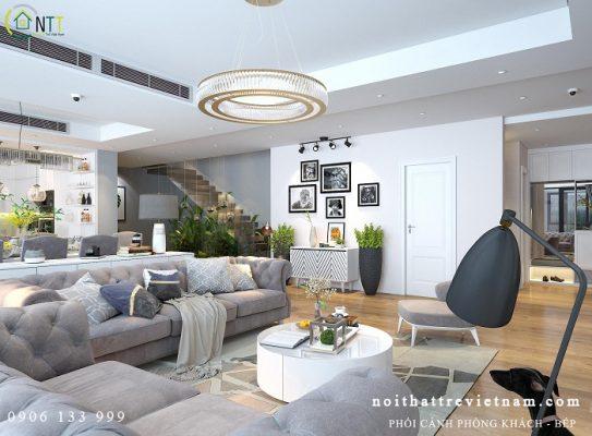 nội thất nhà đẹp 543x400 - Gợi ý những cách bài trí nội thất nhà đẹp hiện đại