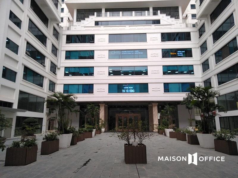 Tòa nhà Center point cho thuê văn phòng 219 trung kính