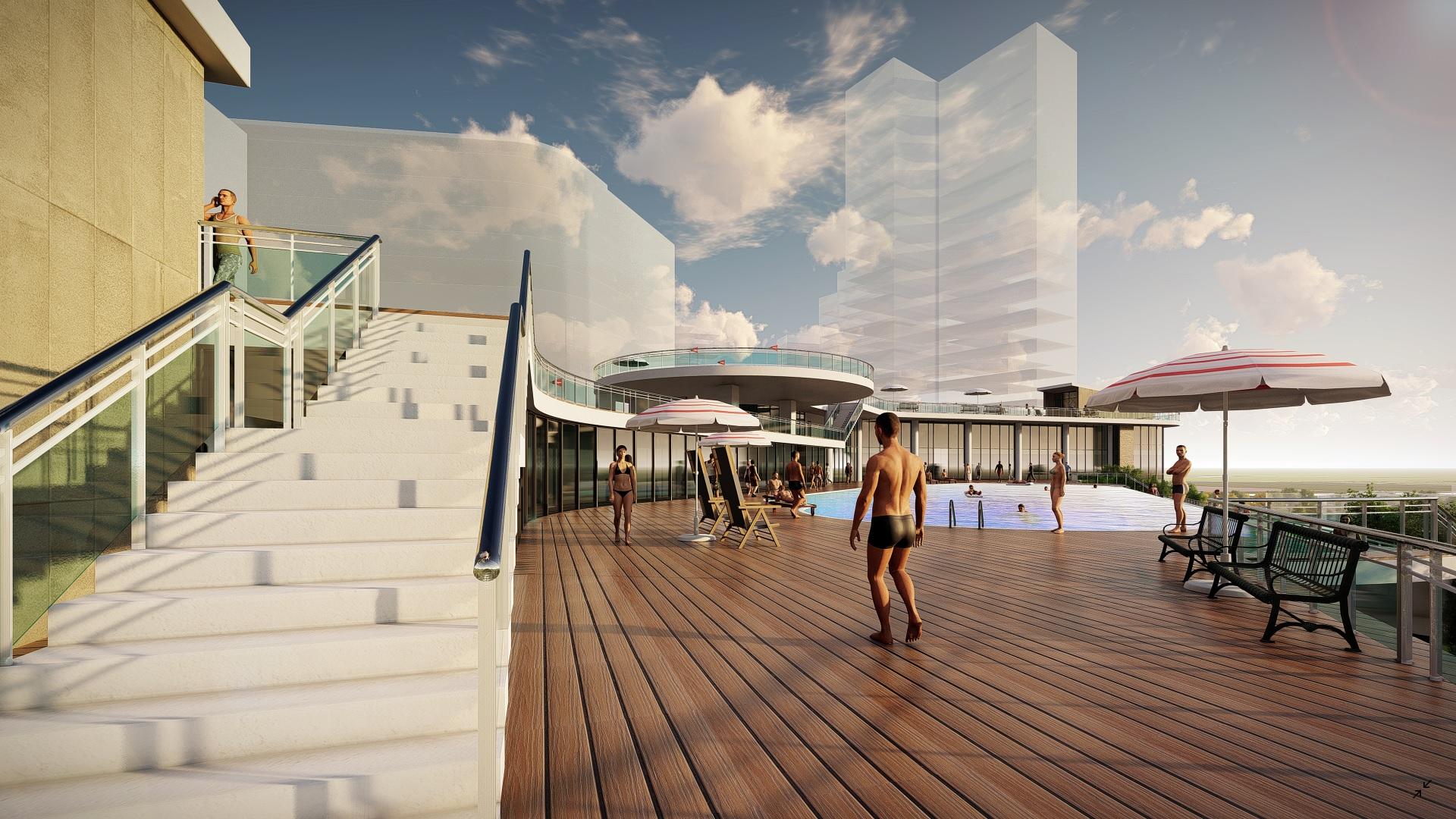ho boi tran khach san park hyatt du an eco green saigon - Penthouse là gì? Tiêu chí của căn hộ Penthouse