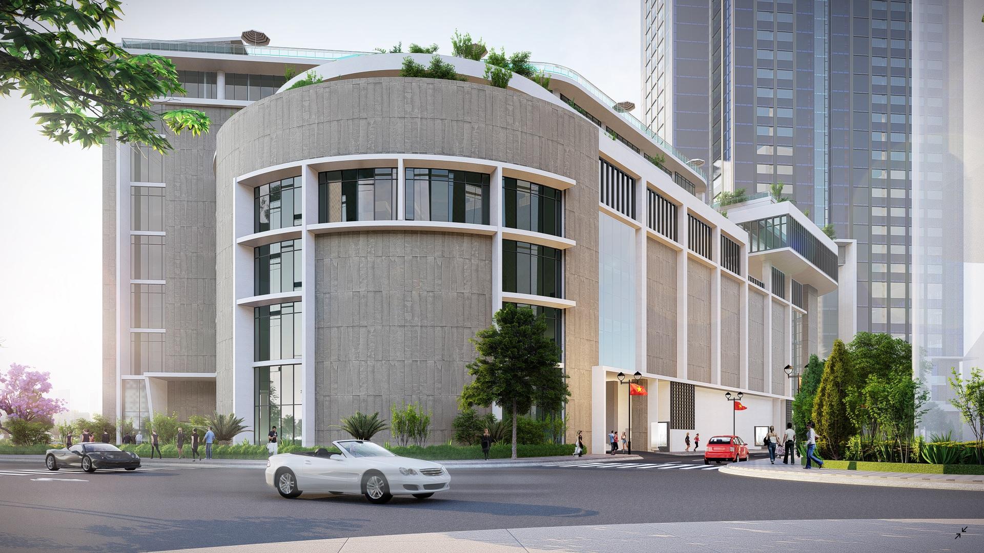 khach san park hyatt va aeon mail du an ecogreen saigon - Penthouse là gì? Tiêu chí của căn hộ Penthouse