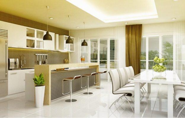 may man va tai loc voi cach bo tri phong bep hop phong thuy 625x400 - Thiết kế nội thất nhà ở theo phong thủy