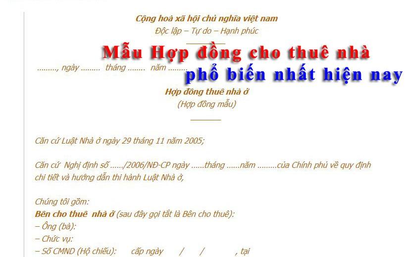 nhung sai sot thuong gap khi lam hop dong thue nha 2776 - nhung-sai-sot-thuong-gap-khi-lam-hop-dong-thue-nha-2776
