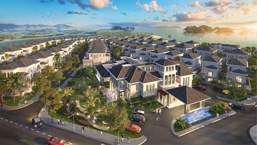 Grand Bay HaLong clup house - Có nên mua biệt thự liền kề Hạ Long Grand Bay hay không?