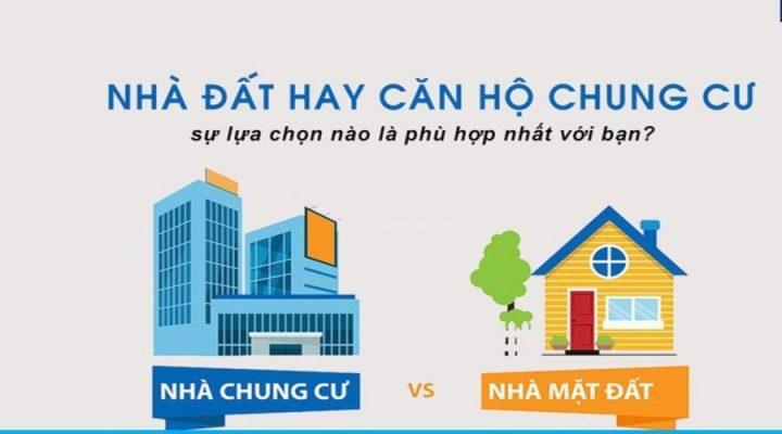nen mua chung cu hay nha mat dat 720x400 - Nên ở chung cư hay nhà đất lời khuyên tốt nhất